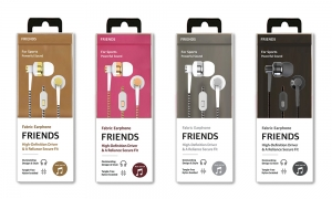 Fabric Earphone, Friends