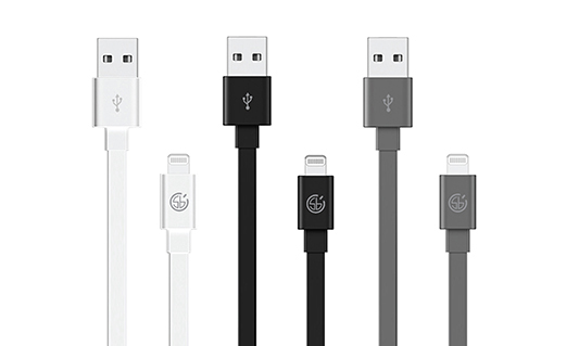 MFI Certified Sync and Charge Flat Lightning Cable